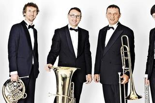 Mit dem Kiev Brass Quintet in St. Märgen