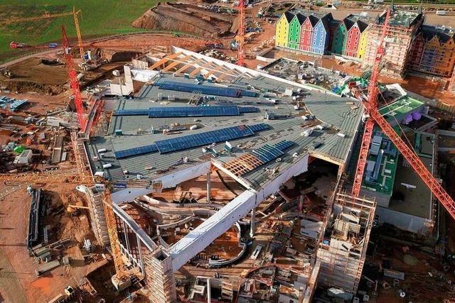 Das ist die Baustelle der neuen Europapark-Wasserwelt Rulantica