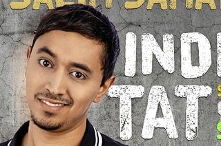 Der indisch-marokkanische Comedian und Historiker Salim Samatou in Freiburg