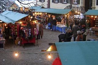Weihnachtsmarkt in Ebringen