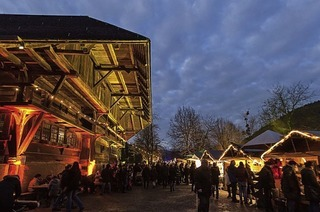 Weihnachtsmarkt im Schwarzwälder Freilichtmuseum Vogtsbauernhof