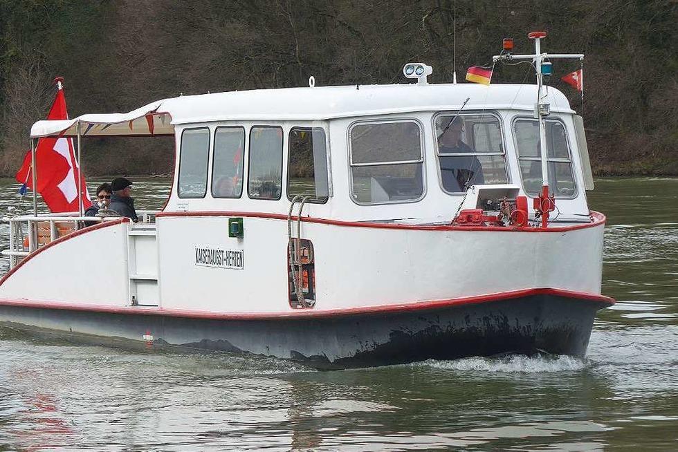 Rheinfähre Herten-Kaiseraugst - Rheinfelden