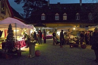 In Bollschweil findet der Weihnachtsmarkt statt