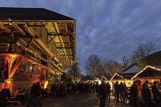Romantik und Handwerk gibt's beim Markt im Schwarzwälder Freilichtmuseum