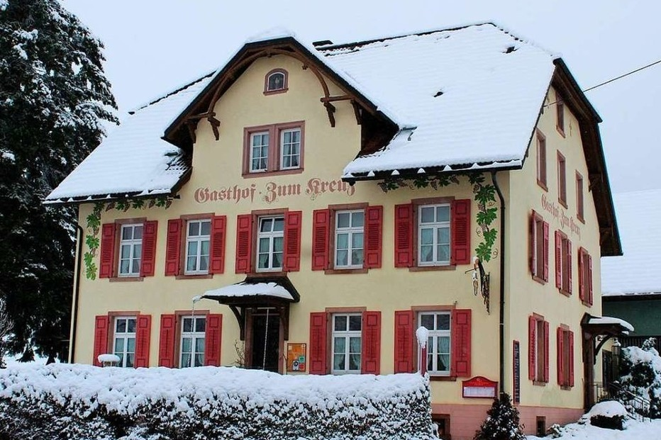 Gasthaus zum Kreuz - Sankt Märgen