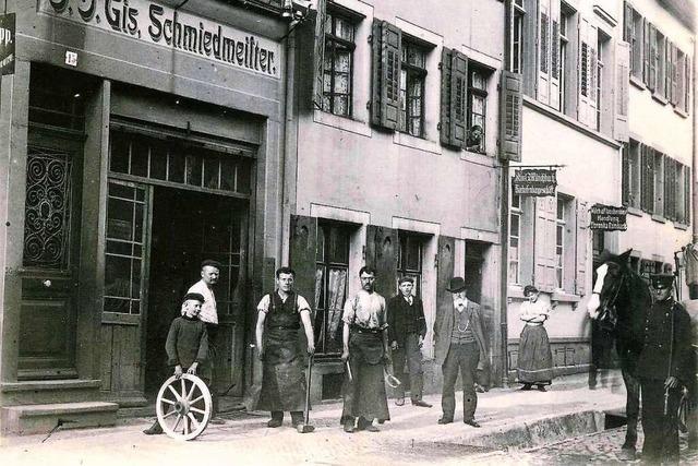 Die Adelhauser Straße 15: von der Schmiede zur Autowerkstatt