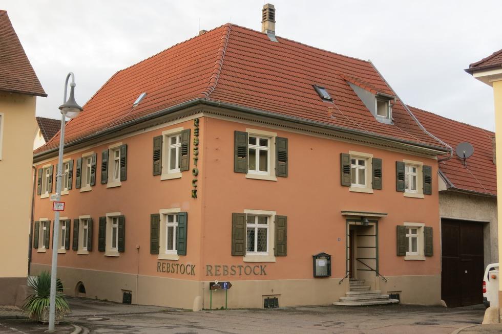Landgasthaus zum Rebstock (geschlossen) - Auggen