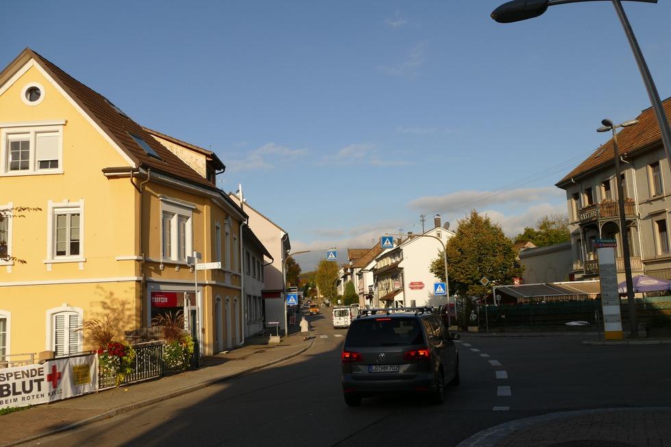 Bahnhofstraße Kandern - Kandern