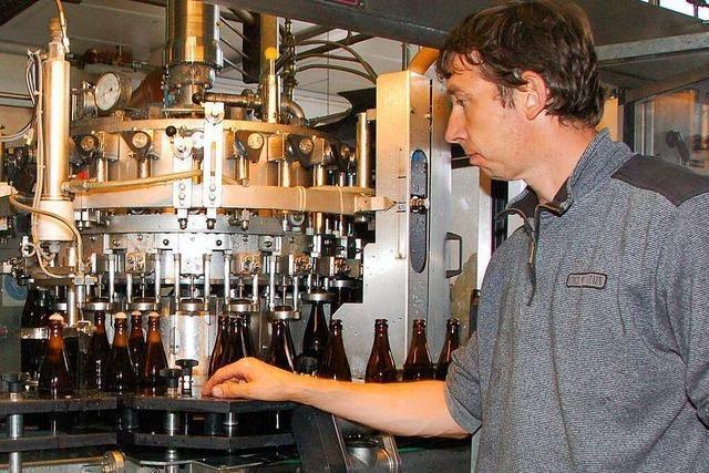 Für Joachim Rogg wird Bier trinken immer schicker