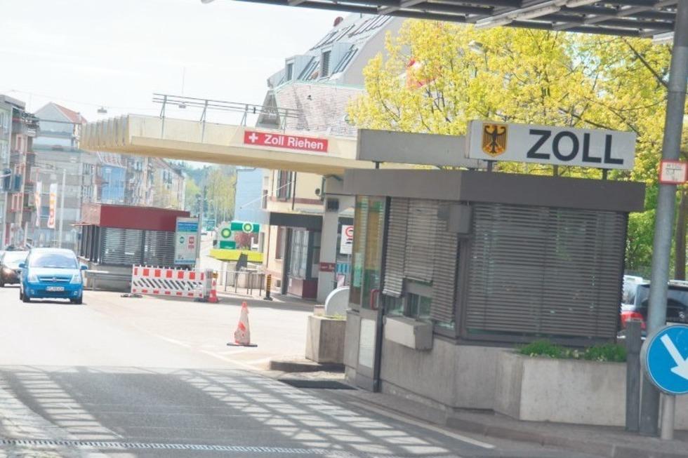 Zoll Lörrach-Stetten/Riehen - Lörrach