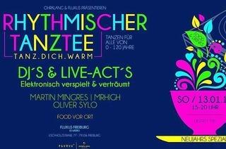 Sonntags feiern? Der Rhythmische Tanztee in Freiburg macht's möglich