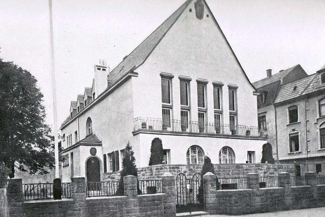 Ein Stararchitekt baute vor fast 100 Jahren das Corpshaus der Suevia