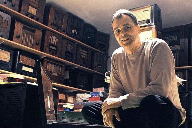 Warum ein Berufsschullehrer den Klang alter Röhrenradios mag