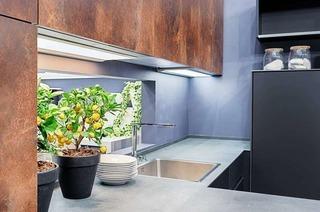 Rost, Granit, Keramik und Beton – neue Küchentrends in 2019