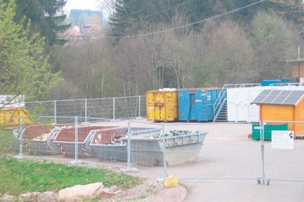 Recyclinghof - Rickenbach