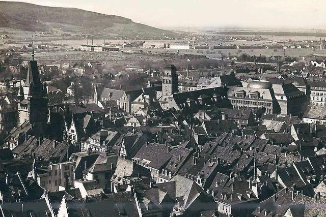 So hat sich der Blick vom Münsterturm über die Jahrzehnte verändert