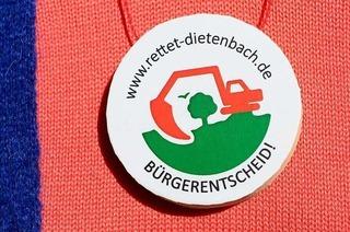 """Auftaktveranstaltung von """"Rettet Dietenbach"""" am Mittwoch"""