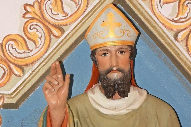 Der Eisheilige Servatius wird in einer Kapelle in Pfaffenweiler verehrt