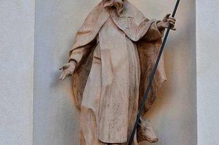Der heilige Antonius ist der Patron der Metzger und Schweinehirten