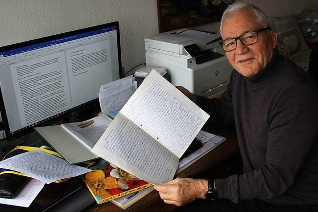 Pensionierter Lehrer hat 1500 Briefe von Schülern und Eltern aufgehoben