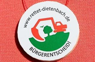 Die Gegner des geplanten Stadtteils Dietenbach eröffnen den Wahlkampf