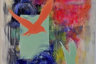 Pop up Galley by Dieter Korb in Lörrach eröffnet Ausstellung mit Malerei, Fotografie und Skulptur