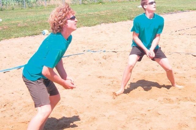 Beach-Volleyballplatz Britzingen