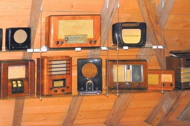 Radiostüble im Heimatmuseum