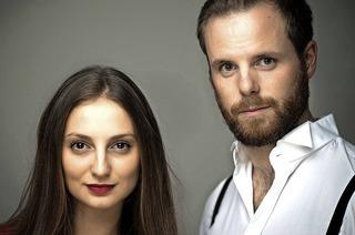 Dashom Nah (Piano), Rebeka Stoikovska (Piano) und Nikolaus Pfannkuch (Tenor)