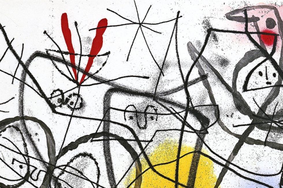 """Das Forum Würth in Arlesheim zeigt die Ausstellung """"Joan Miró - Alles ist Poesie"""" - Badische Zeitung TICKET"""