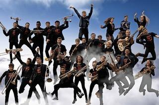 Mitreißende Musik und gute Laune beim Auftritt des Freiburger Schüler-Jazzorchesters im Jazzhaus