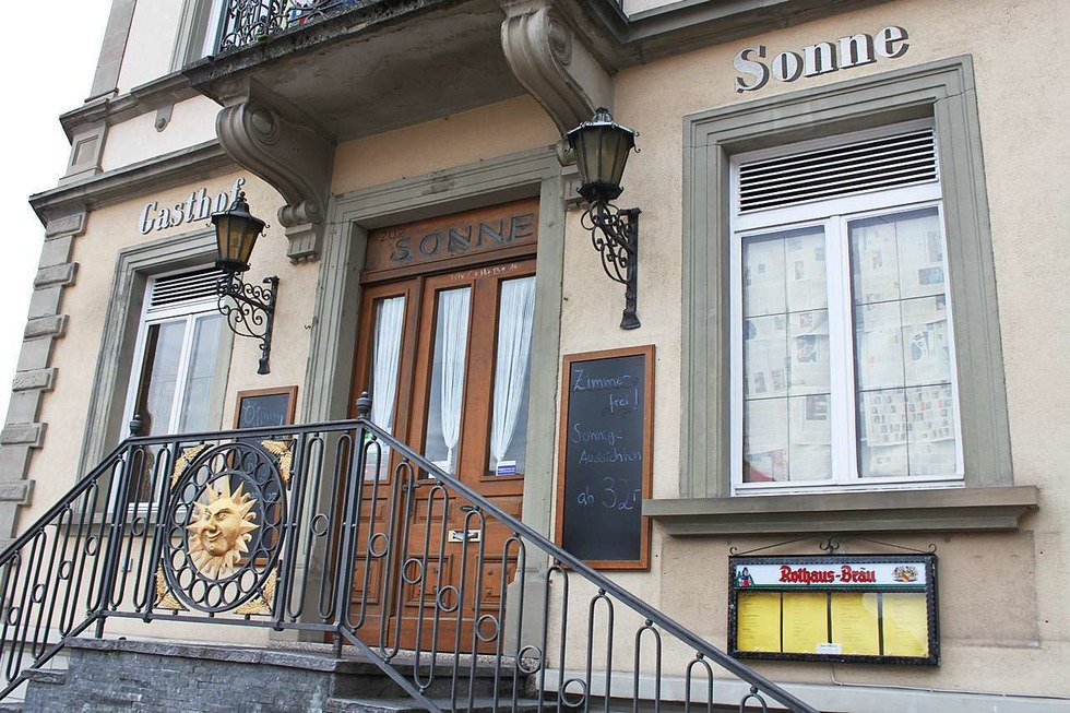 Gasthaus Sonne (geschlossen) - Bonndorf