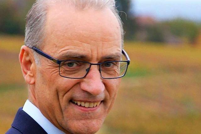 Ein Rundgang durch Ballrechten-Dottingen mit Bürgermeisterkandidat Bernhard Fehrenbach