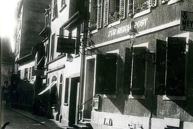 Als Freiburgs Rotlichtviertel am Martinstor lag