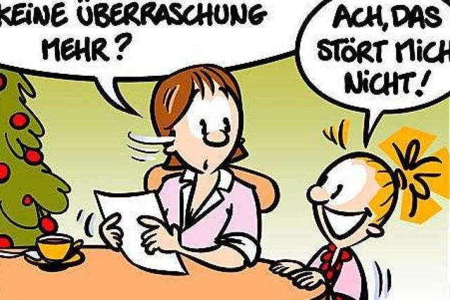 Lucy Backfisch: Überraschung
