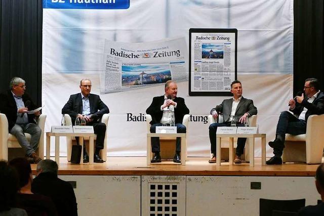 So war der BZ-Kandidatentalk zur Bürgermeisterwahl in Ballrechten-Dottingen