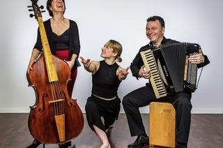 Konzert mit Elise Wichmann, France Beaudry-Wichmann und Franco Coali in Laufen