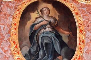 Die Heilige Apollonia ist die Schutzpatronin der Zahnärzte