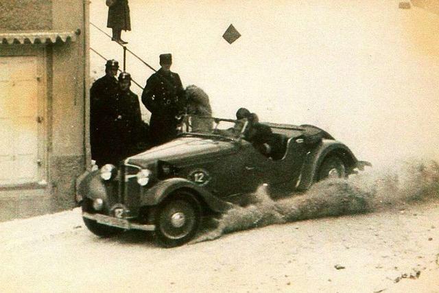 Darum hat Neustadt 1935 ein Autorennen ausgetragen