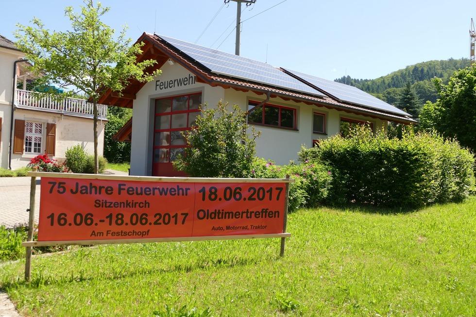 Feuerwehrhaus Sitzenkirch - Kandern