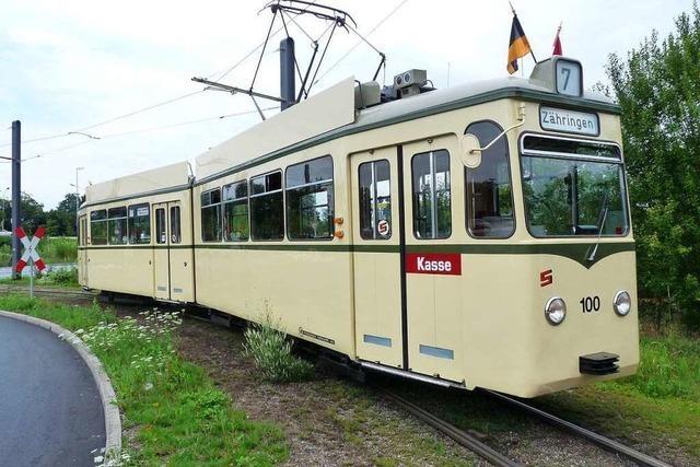 Wie ein Freiburger Tramwagen den Namen eines russischen Satelliten bekommen hat