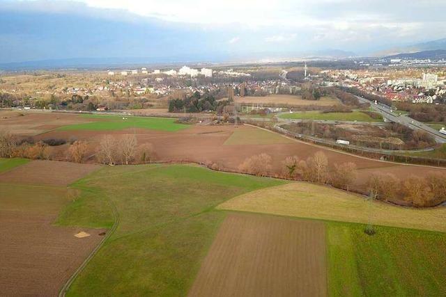 So soll der Stadtteil Dietenbach vor Hochwasser geschützt werden