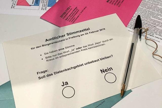Alle Infos zum Bürgerentscheid über den geplanten Stadtteil Dietenbach in Freiburg