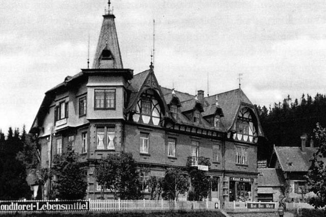 Als Gasthäuser im Schwarzwald Flüchtlinge aus dem zerbombten Freiburg aufnahmen