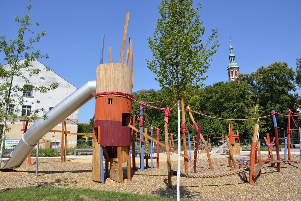 Mühlbachspielplatz - Offenburg