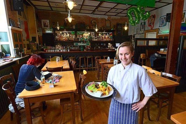 Im McNamara's am Güterbahnhof gibt's irische Pub-Küche