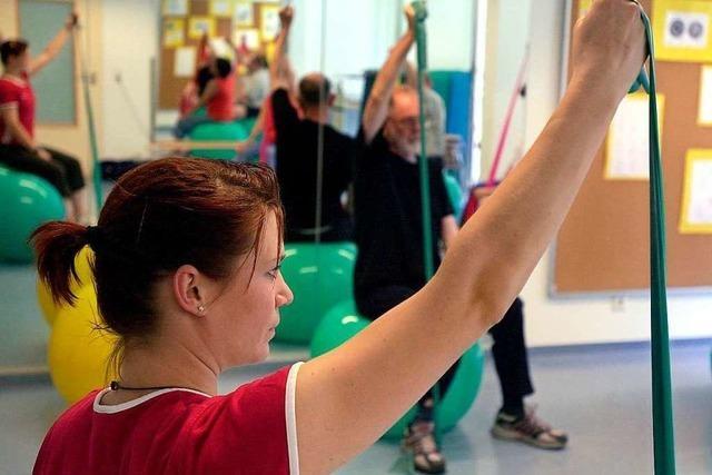 Immer in Bewegung: Sporttherapie in der Rehabilitation
