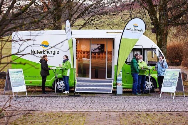 Die Beratung, die zum Kunden kommt – das NaturEnergie Mobil