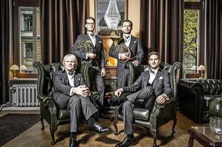 Quartett german hornsound in der evangelischen Kirche Alt-Weil