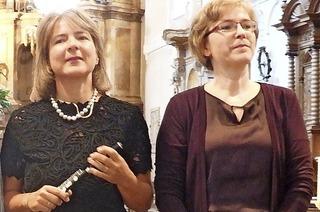 Sonja Kanno-Landoll,Ulrike Wettach-Weidemaier, Tilo Strauß, Orgel in Kirchzarten